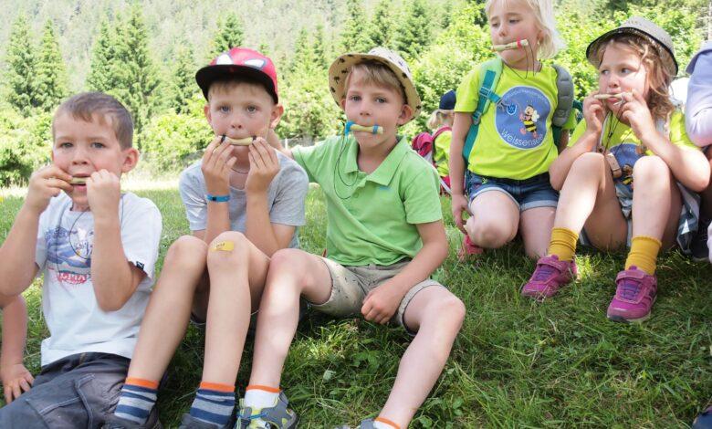 Kreativ Werkstatt aus Wald und Wiese ©weissensee.com